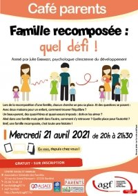 Café parents : la famille recomposée